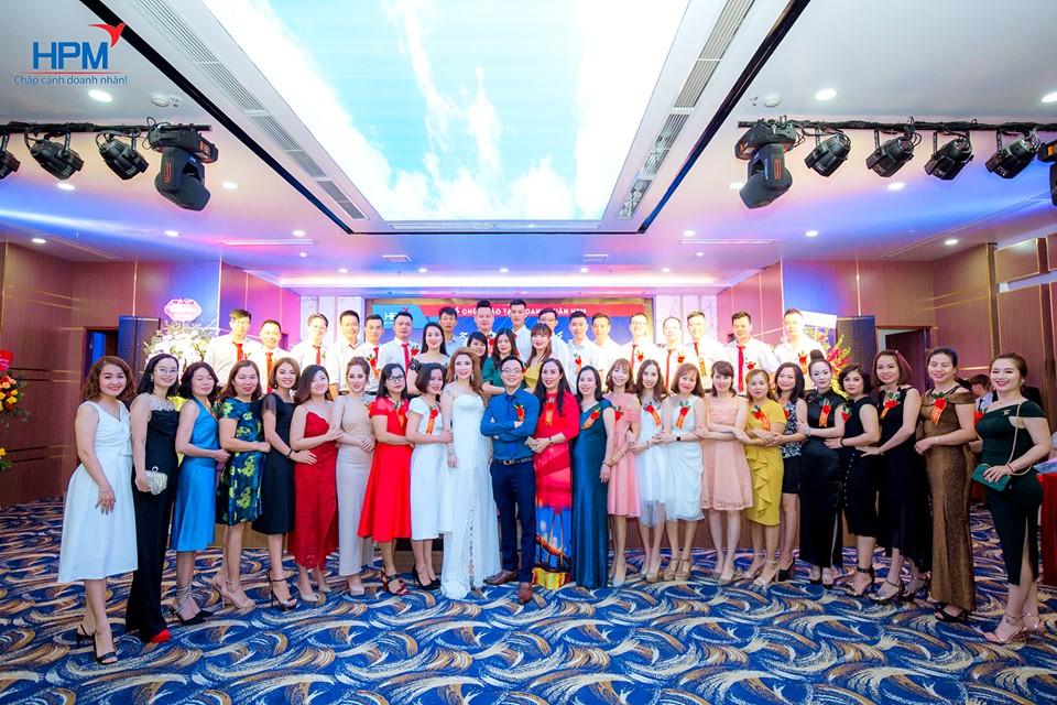 Ban giám đốc Công ty tham gia lớp học CEO 21 HPM
